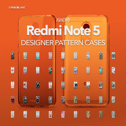 Xiaomi Redmi Note 5 cases, designer pattern cases | CASSEiLIKE.com