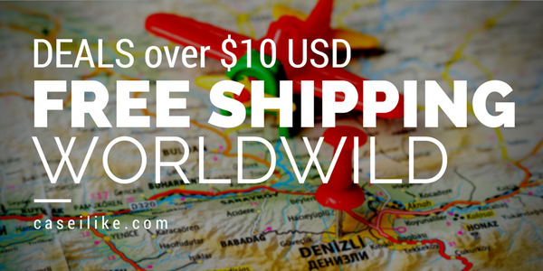 Free Shipping Worldwild for Deals over $10 USD