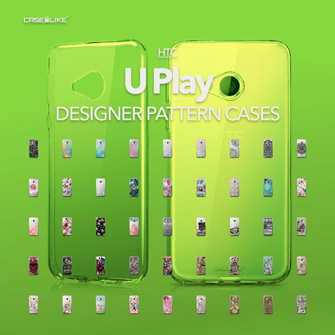 HTC U Play cases, designer pattern cases | CASSEiLIKE.com