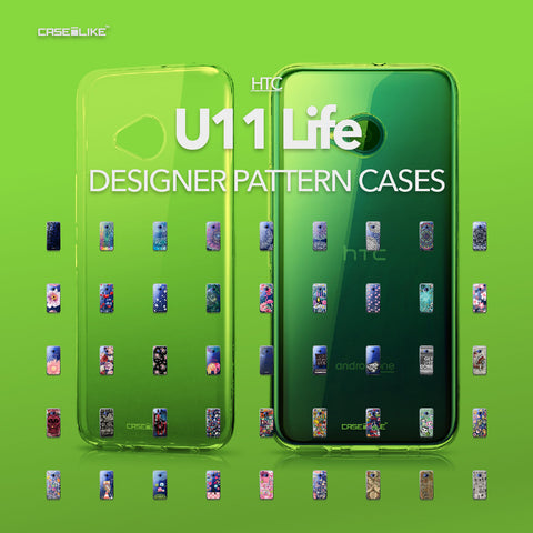 HTC U11 Life cases, designer pattern cases | CASSEiLIKE.com