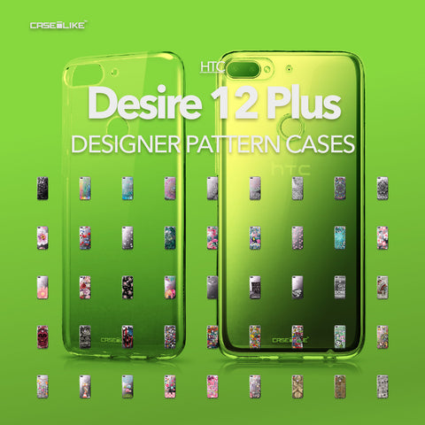 HTC Desire 12 Plus cases, designer pattern cases | CASSEiLIKE.com