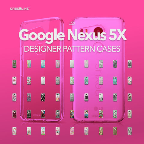 Google Nexus 5X cases, designer pattern cases | CASSEiLIKE.com