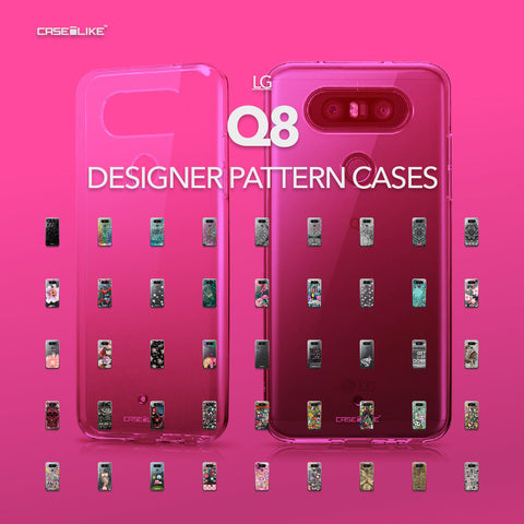 LG Q8 cases, designer pattern cases | CASSEiLIKE.com