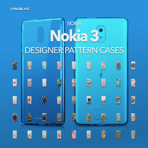 Nokia 3 cases, designer pattern cases | CASSEiLIKE.com