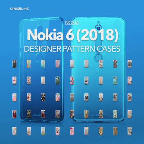 Nokia 6 (2018) cases, designer pattern cases | CASSEiLIKE.com