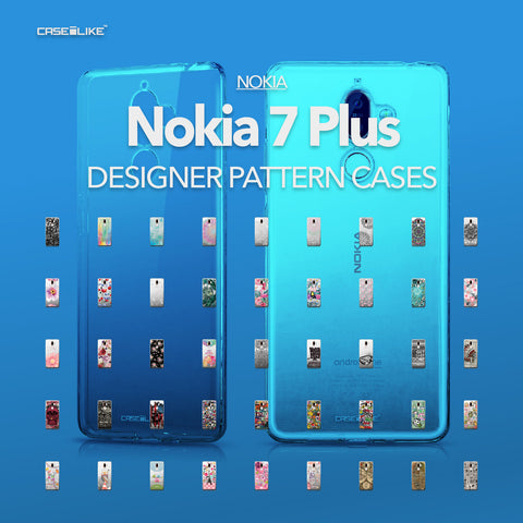 Nokia 7 Plus cases, designer pattern cases | CASSEiLIKE.com