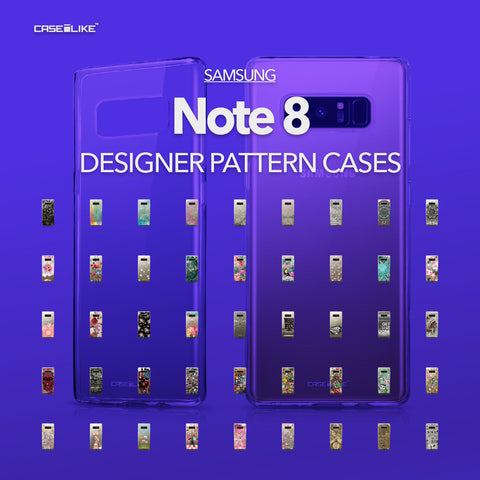 Samsung Galaxy Note 8 cases, designer pattern cases | CASSEiLIKE.com