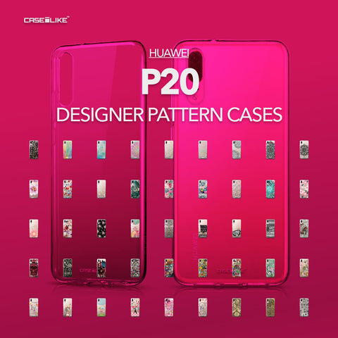 Huawei P20 cases, designer pattern cases | CASSEiLIKE.com