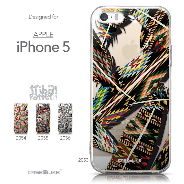 Collection - CASEiLIKE Apple iPhone 5GS back cover Indian 2053 Tribal Theme Pattern