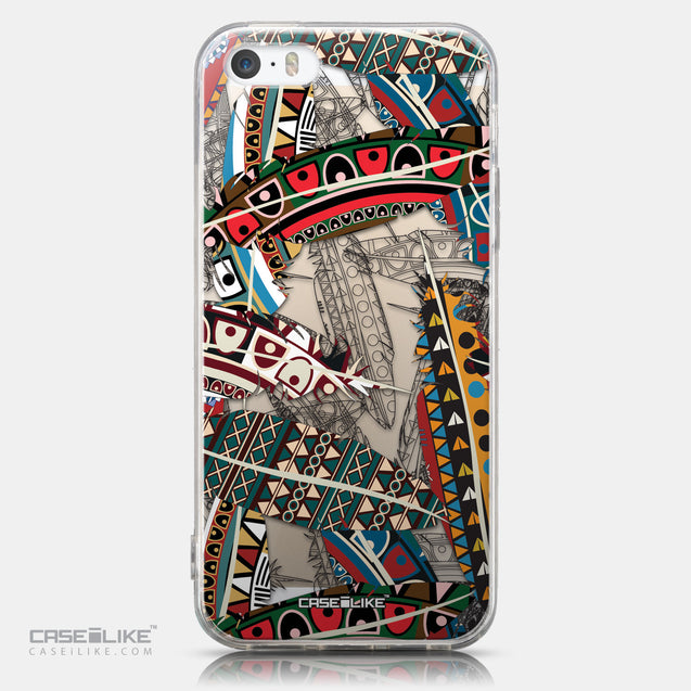 CASEiLIKE Apple iPhone 5GS back cover Indian 2055 Tribal Theme Pattern