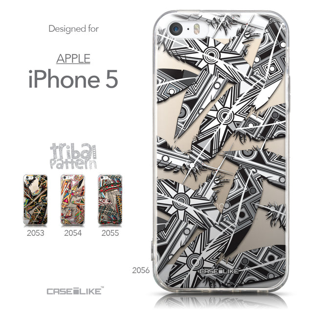 Collection - CASEiLIKE Apple iPhone 5GS back cover Indian 2056 Tribal Theme Pattern