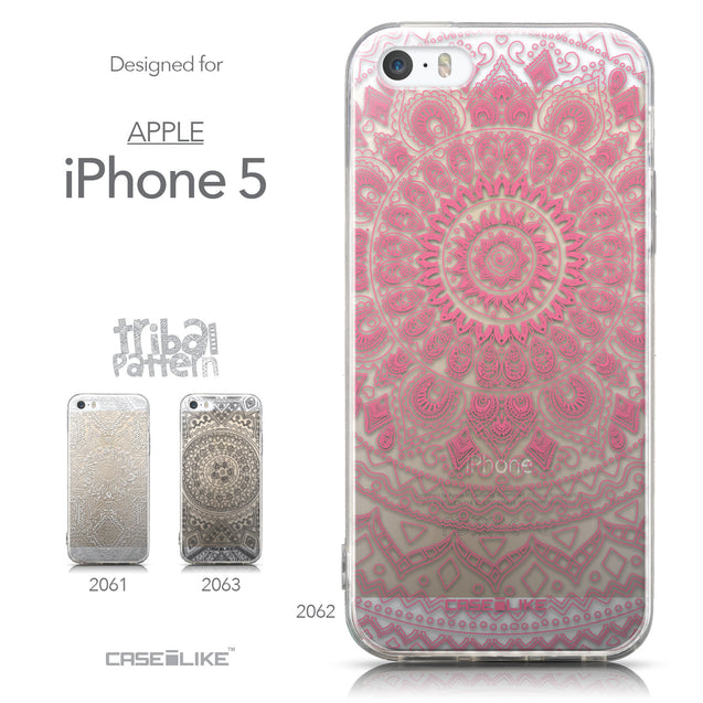 Collection - CASEiLIKE Apple iPhone 5GS back cover Indian Line Art 2062