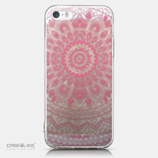 CASEiLIKE Apple iPhone 5GS back cover Indian Line Art 2062