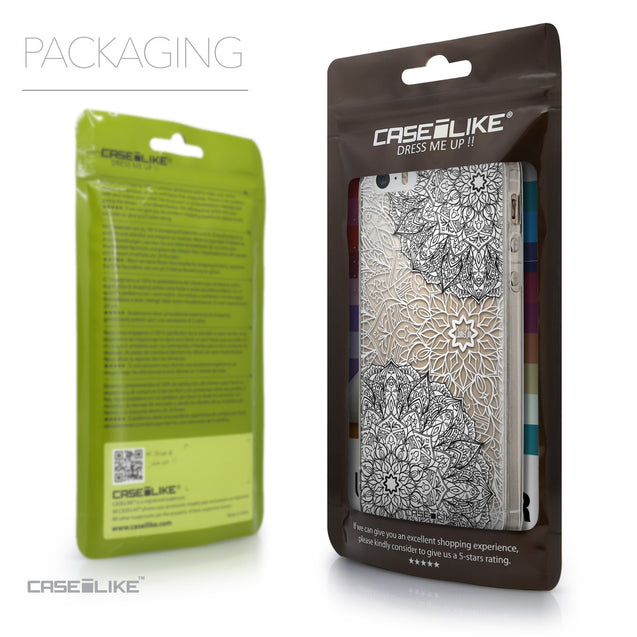 Packaging - CASEiLIKE Apple iPhone 5GS back cover Mandala Art 2093