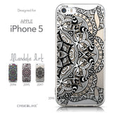 Collection - CASEiLIKE Apple iPhone 5GS back cover Mandala Art 2096