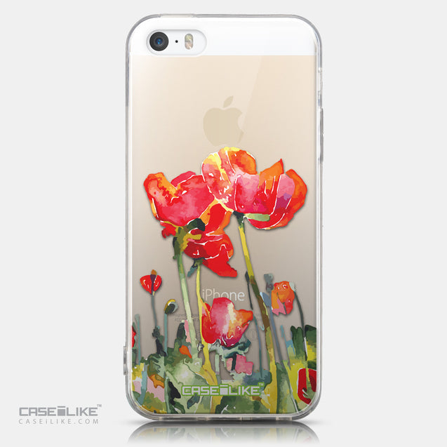 CASEiLIKE Apple iPhone 5GS back cover Watercolor Floral 2230