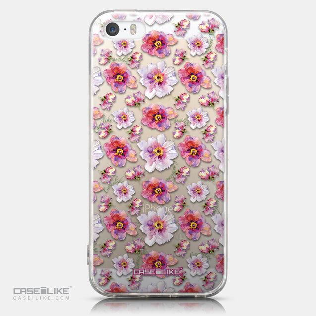 CASEiLIKE Apple iPhone 5GS back cover Watercolor Floral 2232