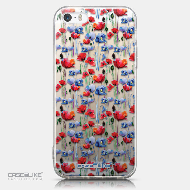 CASEiLIKE Apple iPhone 5GS back cover Watercolor Floral 2233