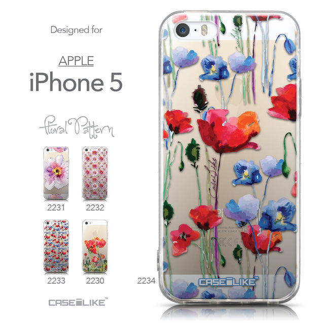 Collection - CASEiLIKE Apple iPhone 5GS back cover Indian Line Art 2061