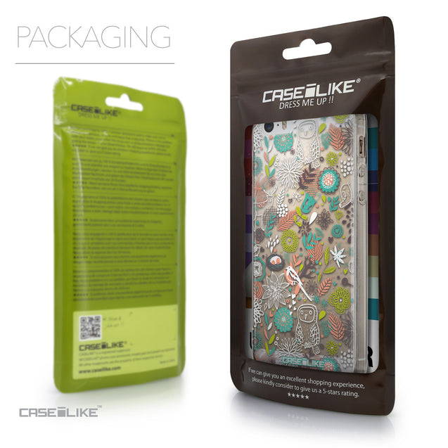 Packaging - CASEiLIKE Apple iPhone 5GS back cover Spring Forest White 2241
