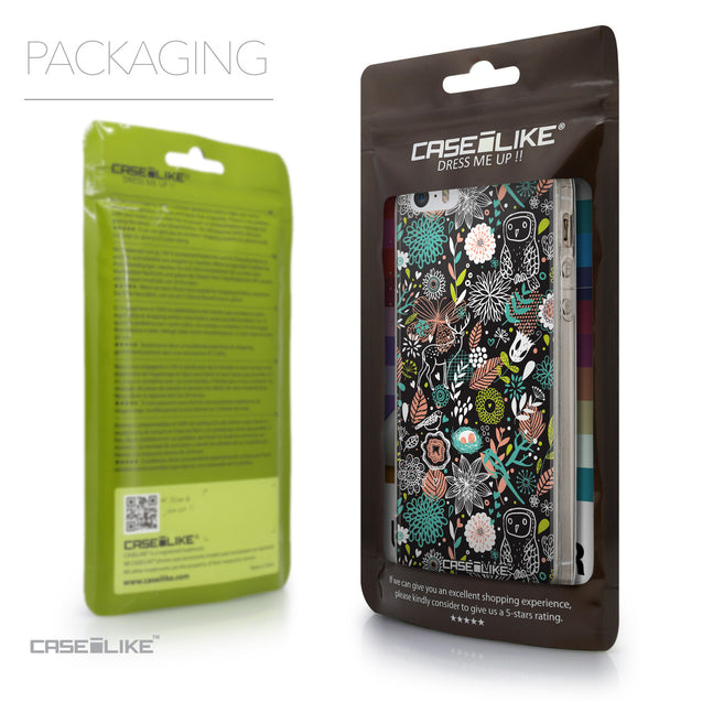 Packaging - CASEiLIKE Apple iPhone 5GS back cover Spring Forest Black 2244