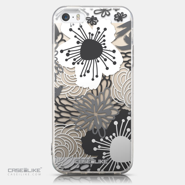 CASEiLIKE Apple iPhone 5GS back cover Japanese Floral 2256