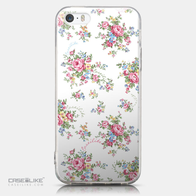 CASEiLIKE Apple iPhone 5GS back cover Floral Rose Classic 2260