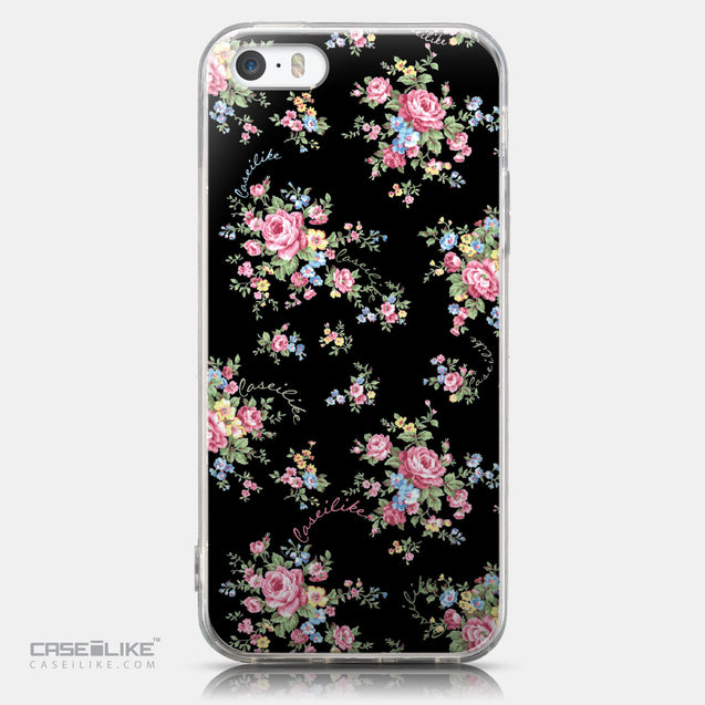 CASEiLIKE Apple iPhone 5GS back cover Floral Rose Classic 2261