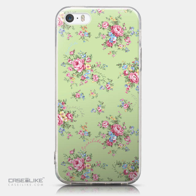 CASEiLIKE Apple iPhone 5GS back cover Floral Rose Classic 2262