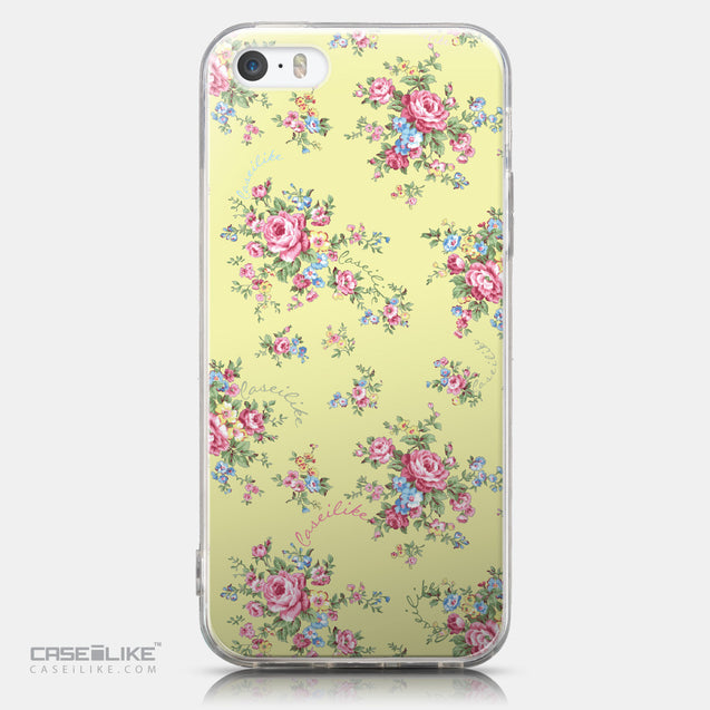 CASEiLIKE Apple iPhone 5GS back cover Floral Rose Classic 2264