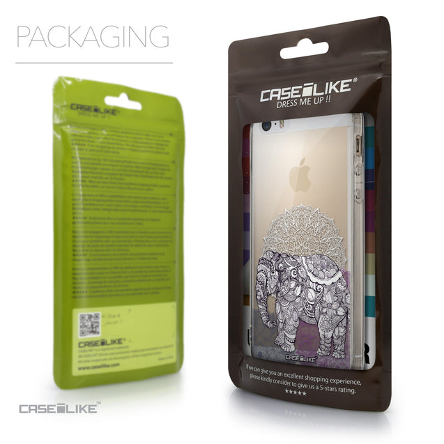Packaging - CASEiLIKE Apple iPhone 5GS back cover Mandala Art 2301