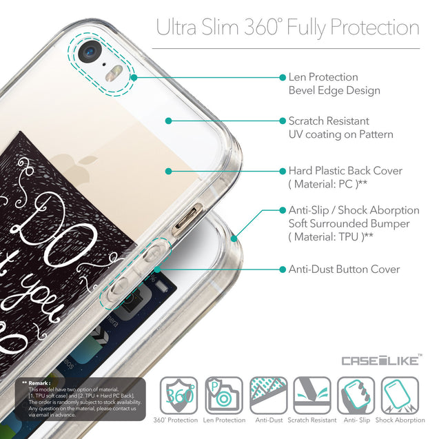 Details in English - CASEiLIKE Apple iPhone 5GS back cover Quote 2400