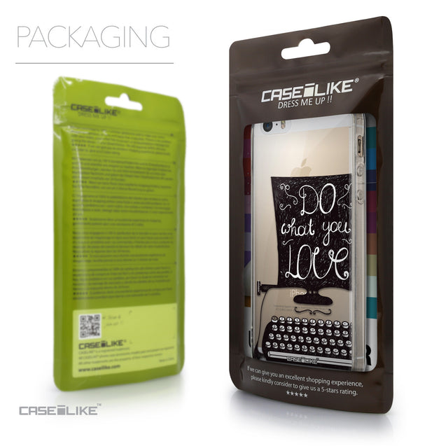 Packaging - CASEiLIKE Apple iPhone 5GS back cover Quote 2400