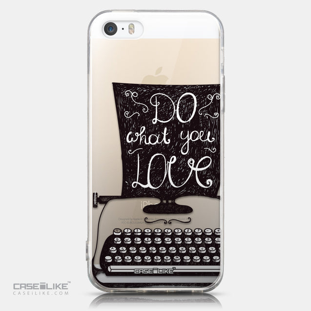 CASEiLIKE Apple iPhone 5GS back cover Quote 2400