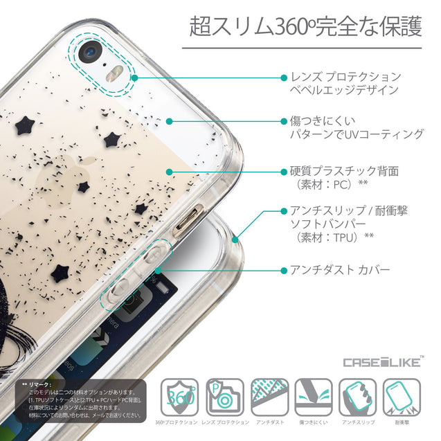 Details in Japanese - CASEiLIKE Apple iPhone 5GS back cover Quote 2401