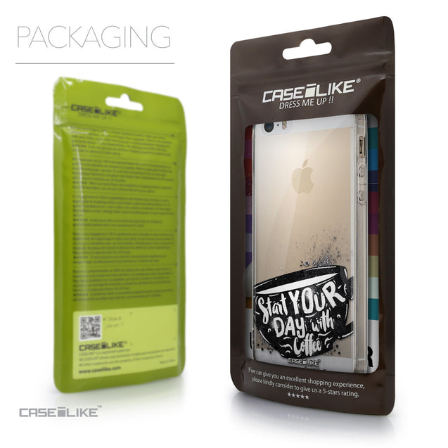 Packaging - CASEiLIKE Apple iPhone 5GS back cover Quote 2402