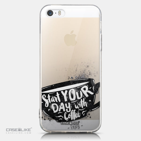 CASEiLIKE Apple iPhone 5GS back cover Quote 2402