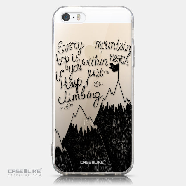CASEiLIKE Apple iPhone 5GS back cover Quote 2403
