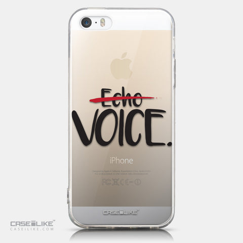 CASEiLIKE Apple iPhone 5GS back cover Quote 2405