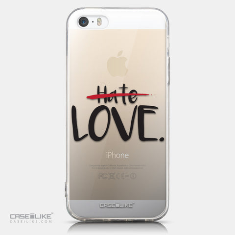 CASEiLIKE Apple iPhone 5GS back cover Quote 2406
