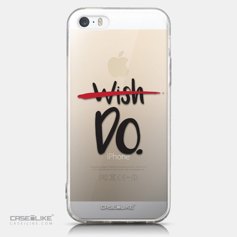 CASEiLIKE Apple iPhone 5GS back cover Quote 2407