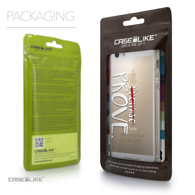 Packaging - CASEiLIKE Apple iPhone 5GS back cover Quote 2409