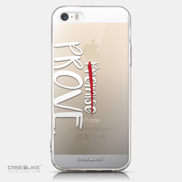CASEiLIKE Apple iPhone 5GS back cover Quote 2409