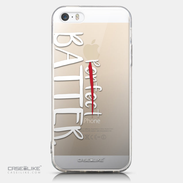 CASEiLIKE Apple iPhone 5GS back cover Quote 2410