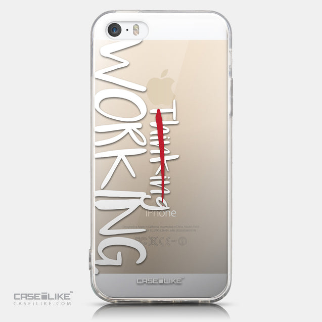 CASEiLIKE Apple iPhone 5GS back cover Quote 2411