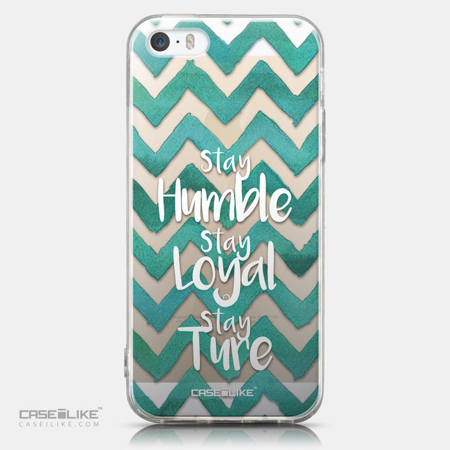 CASEiLIKE Apple iPhone 5GS back cover Quote 2418