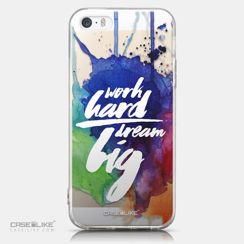 CASEiLIKE Apple iPhone 5GS back cover Quote 2422