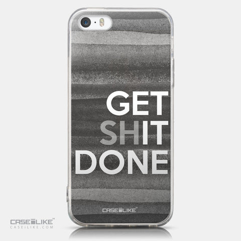 CASEiLIKE Apple iPhone 5GS back cover Quote 2429