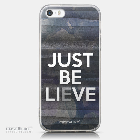 CASEiLIKE Apple iPhone 5GS back cover Quote 2430