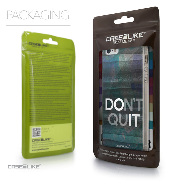 Packaging - CASEiLIKE Apple iPhone 5GS back cover Quote 2431